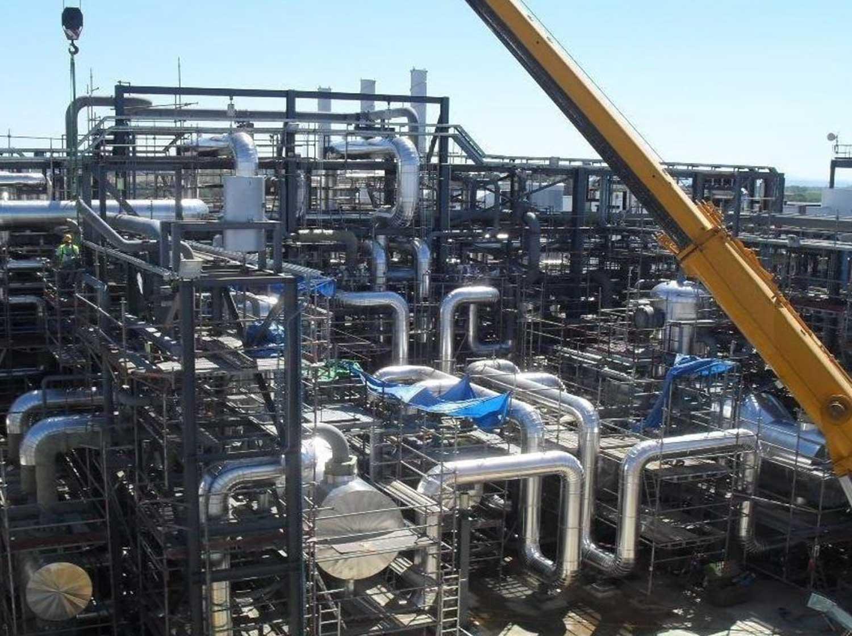 Montaje-BOP-de-isla-de-potencia-planta-termosolar