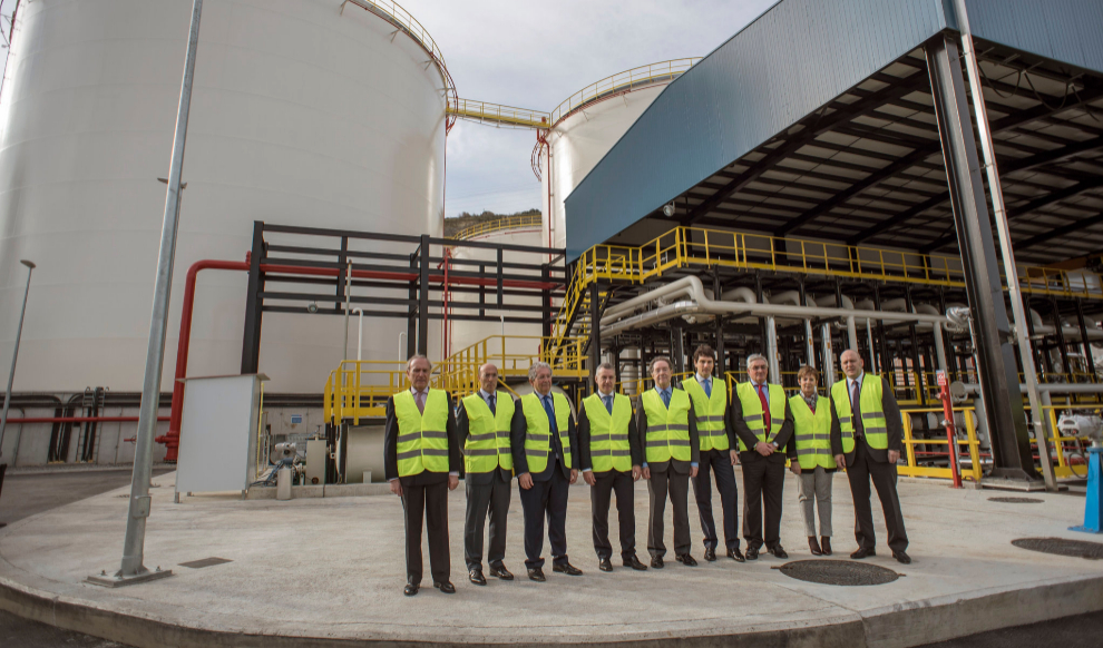 Inauguration of the new storage installation for CLH in the Port of Bilbao