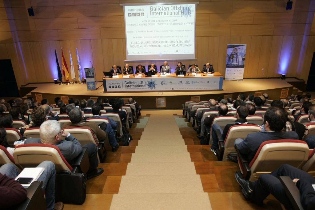 "Se celebra al primera edición de la ""Galician Offshore International HUB 2016″"