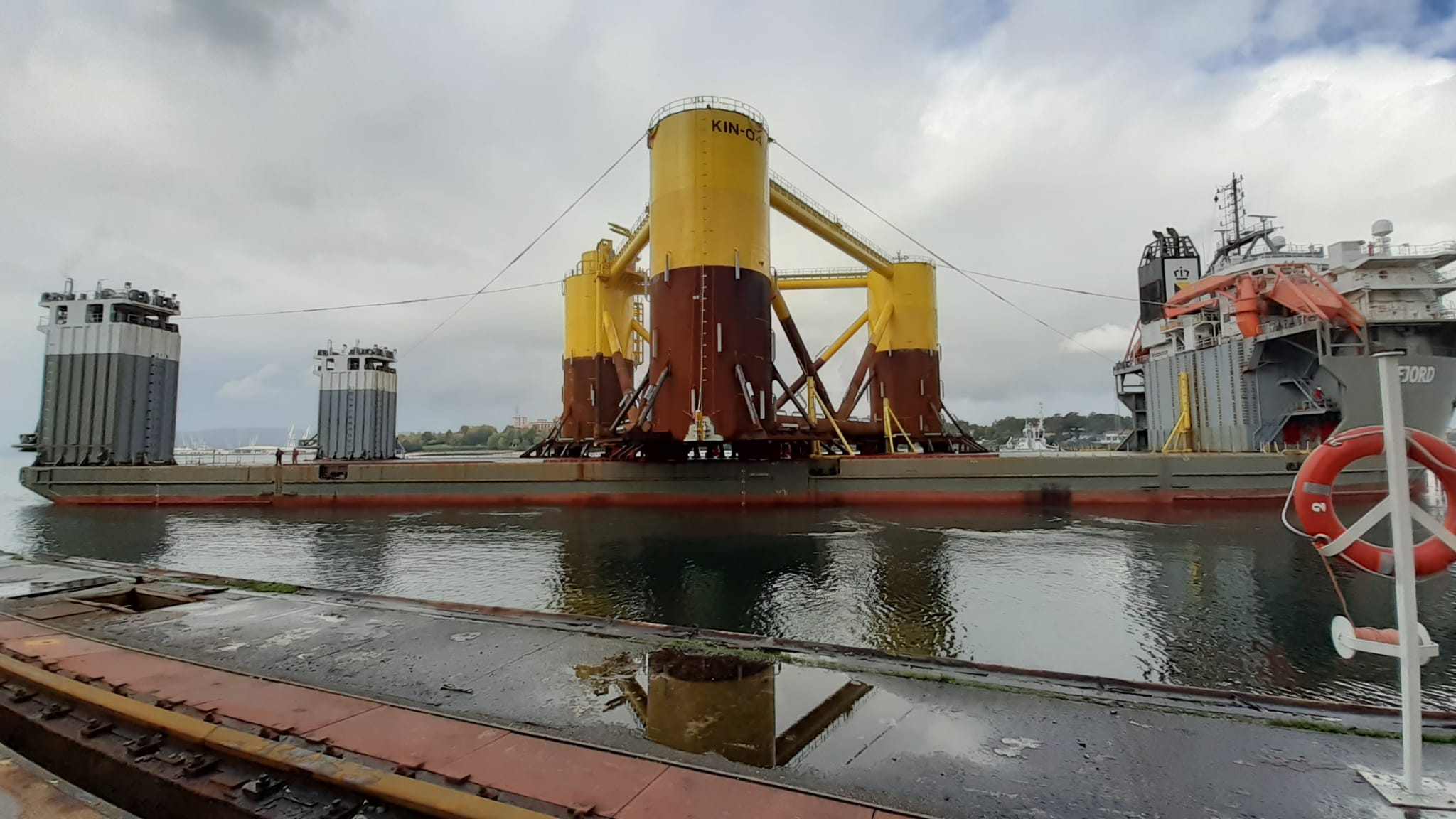 NERVION COMPLETES THE FIRST FLOATING WIND STRUCTURE UNIT OF THE KINCARDINE PROJECT